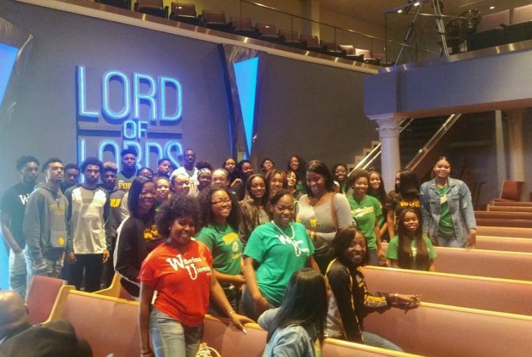 Photo for Wilberforce Athletics attend Church Service